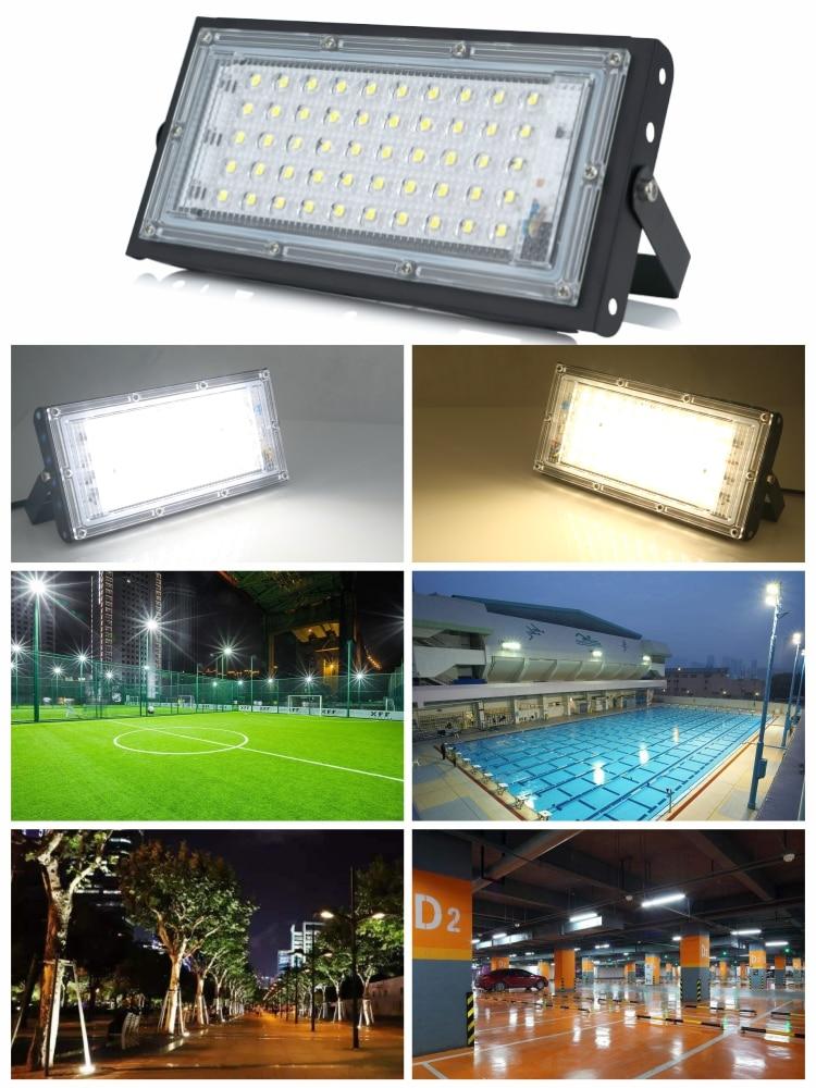 Landscape Lighting Street-Lamp LED IP65 230V Waterproof 220V 240V AC