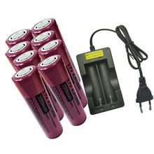 Аккумуляторная батарея pkcell 18650 2200 мАч icr18650 37 в литий