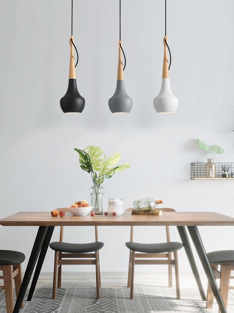 Lights-Decor Industrial-Lamp Pendant Bedroom Ceiling-Hanging E27-Design Nordic Home Modern