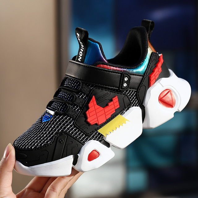Children Sneakers Boys Kids Girls Leisure Travel Shoes New Spring Autumn Sports Running Shoes Fashion Breathable   Mesh 1