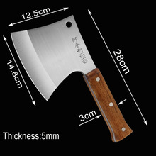 Knife-Tool Chopper Outdoor-Cut Survival Axes Firewood Butcher King Sea Axe-Chef Trees