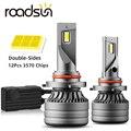 Новые поступления CSP мини H4 светодиодный H7 H1 H11 автомобильные лампы для передних фар H8 HB3 HB4 9005 9006 светодиодный Canbus 100 Вт 13000LM 6000K 12V Светодиодны...