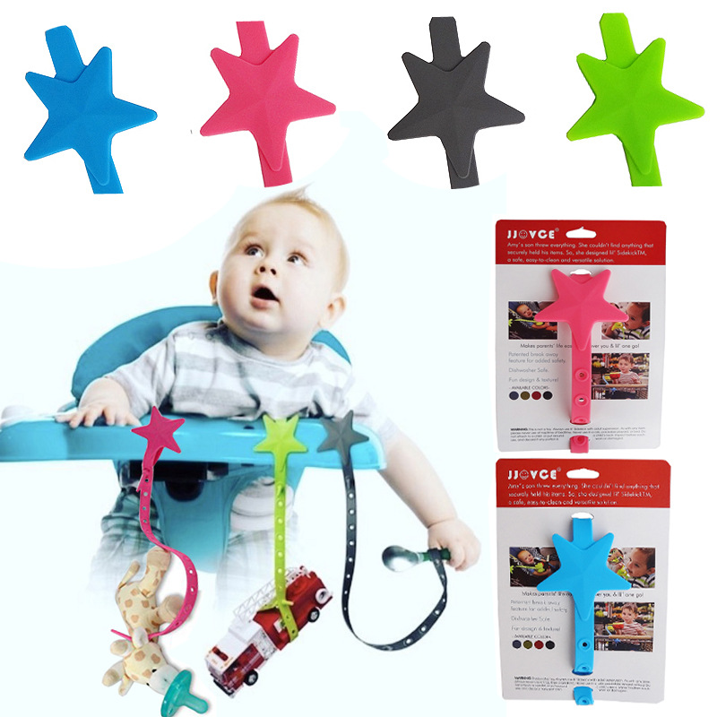 1pc Baby Stroller Accessories Toys Teether Pacifier Chain Strap Anti-Drop Belt Holder Baby Stroller Strap Fixed Stroller Lanyard