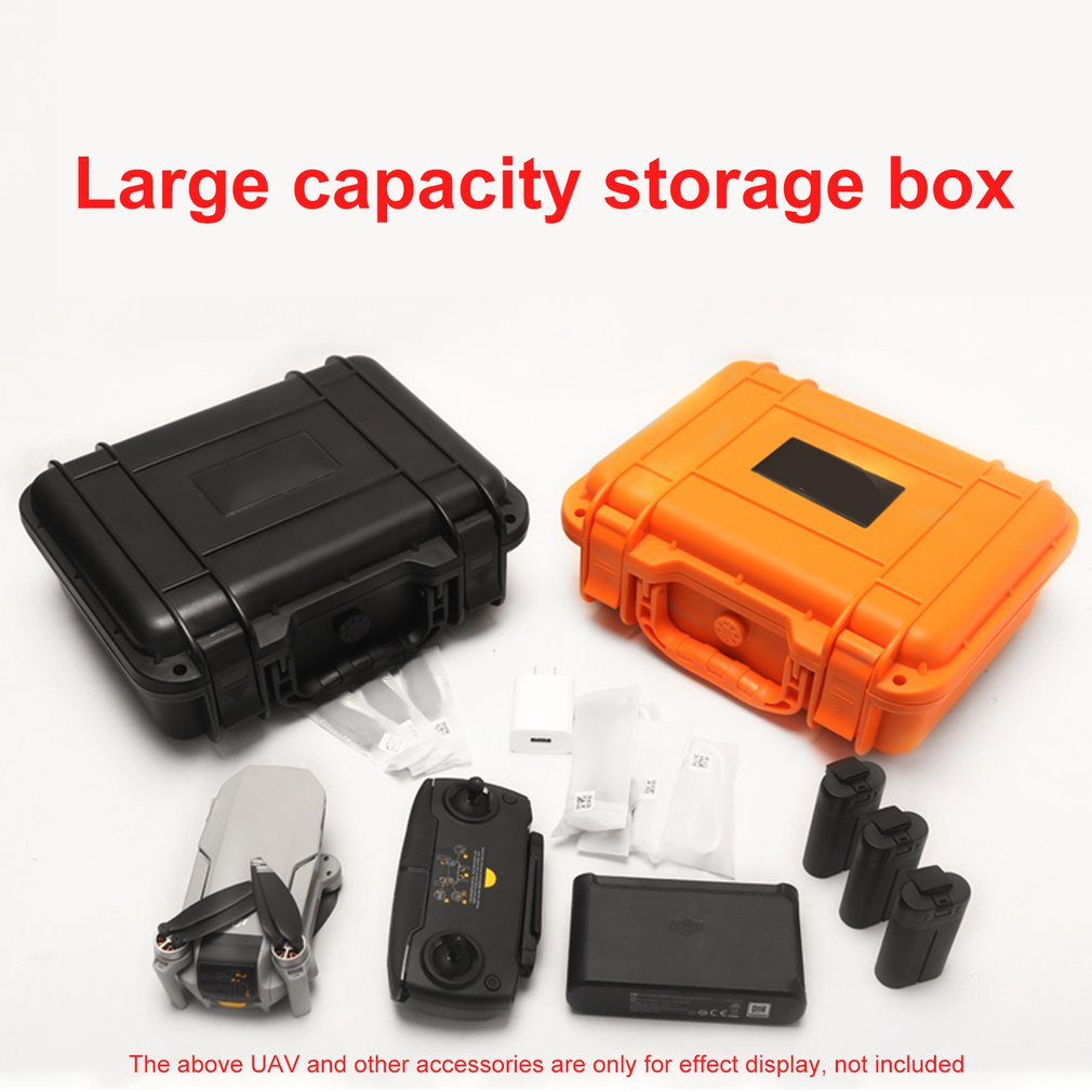 Hardshell Waterproof Shoulder Storage Bag For DJI MAVIC Mini Drone Storage Case Carrying Box With 3 Batteries Accessories