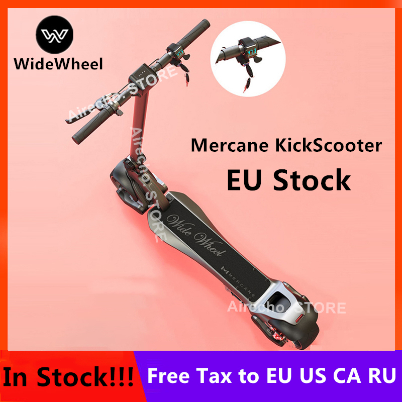 Ue Stock 2019 plus récent 500 W/1000 W Mercane WideWheel Smart Scooter électrique pliable large roue Kickscooter double moteur planche à roulettes