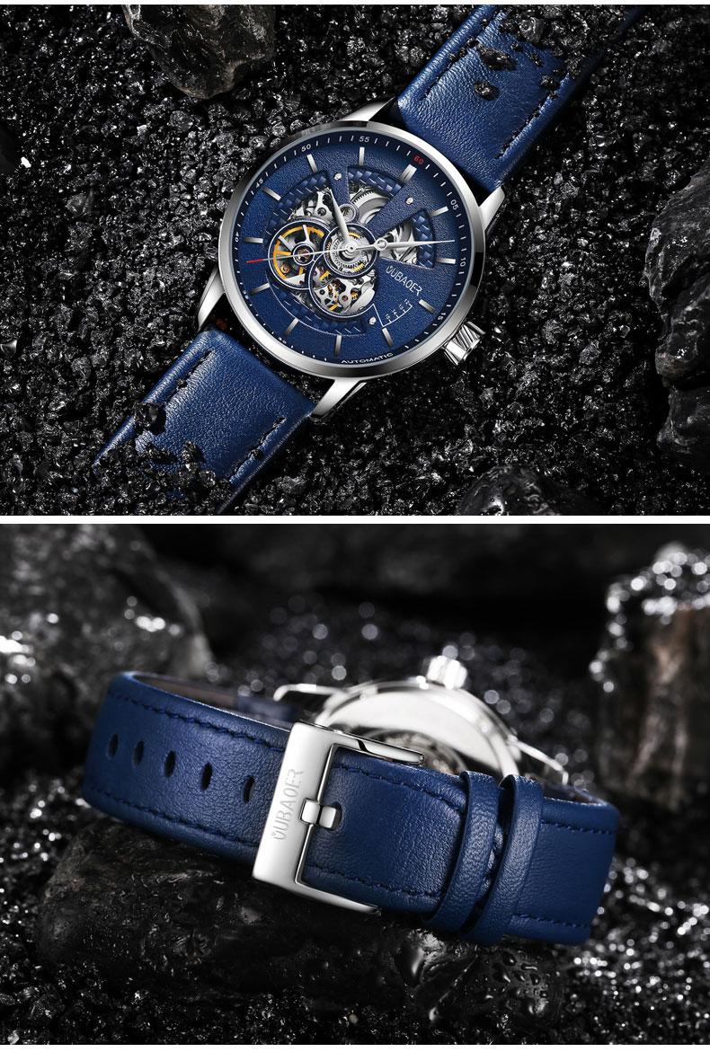 cuir montres Cafe militaire 11