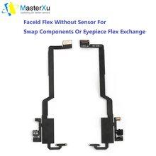 Faceid Flex sensörsüz mercek Flex yüz kimliği nokta projektör onarım değiştirme bileşenleri iPhone X XS XS Max XR yüz kimliği Modu