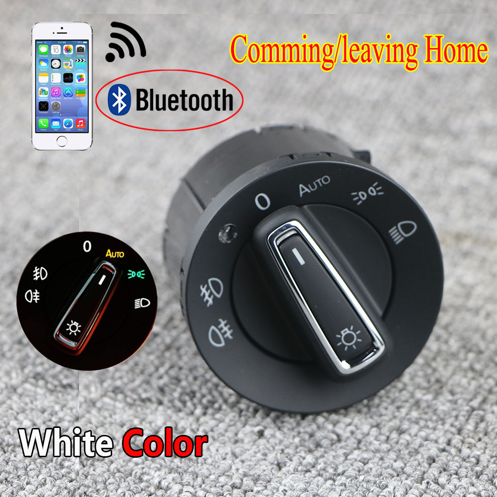 Bluetooth Авто головной светильник лампа переключатель светильник Модуль датчика обновления для VW Golf 7 MK7 Tiguan L