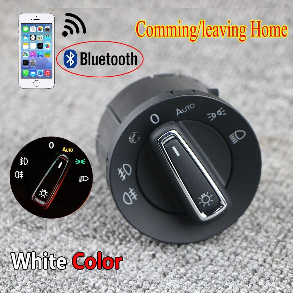 Bluetooth Авто головной светильник лампа переключатель светильник Модуль датчика обновления для VW Golf 7 MK7 Tiguan L|Переключатели и рычаги для авто|   | АлиЭкспресс