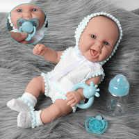Muñeca realista de bebé reborn de 30cm, de silicona impermeable de 12 pulgadas, hermoso para recién nacidos, botella de alimentación, ropa, Juguetes