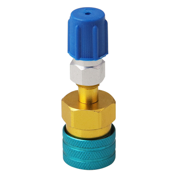 Automotive air conditioning adapter R1234YF to R134a Low Side Quick Coupler R-12 to R-134a Hose Adapter Fitting image