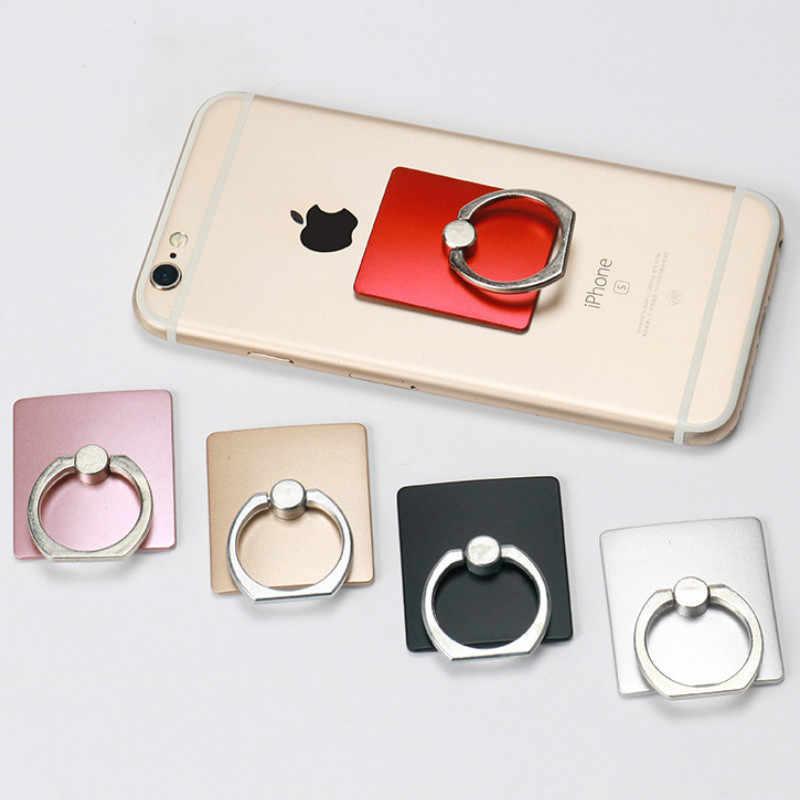 Vinger Telefoon Houder Stands 360 Graden Cirkel Grip Telefoon Houder Smartphones Voor Iphone Xiaomi Mobiele Mobiele Auto Telefoon Ring Houder
