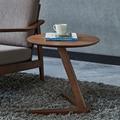 Home Seite Tisch Möbel Runde Kaffee Tisch für Wohnzimmer Kleine Nachttisch Design Ende Tisch Sofaside Minimalistischen Kleine Schreibtisch-in Kaffeetische aus Möbel bei