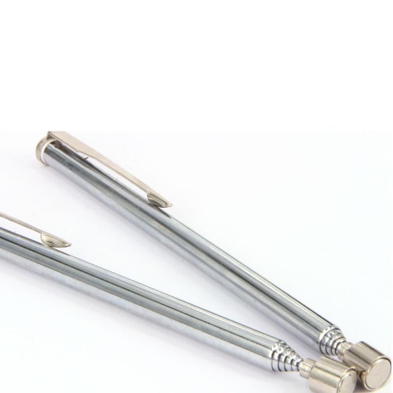 Portable Telescopic Magnetic Long Pen Pick Up Rod Tool Extending Stick