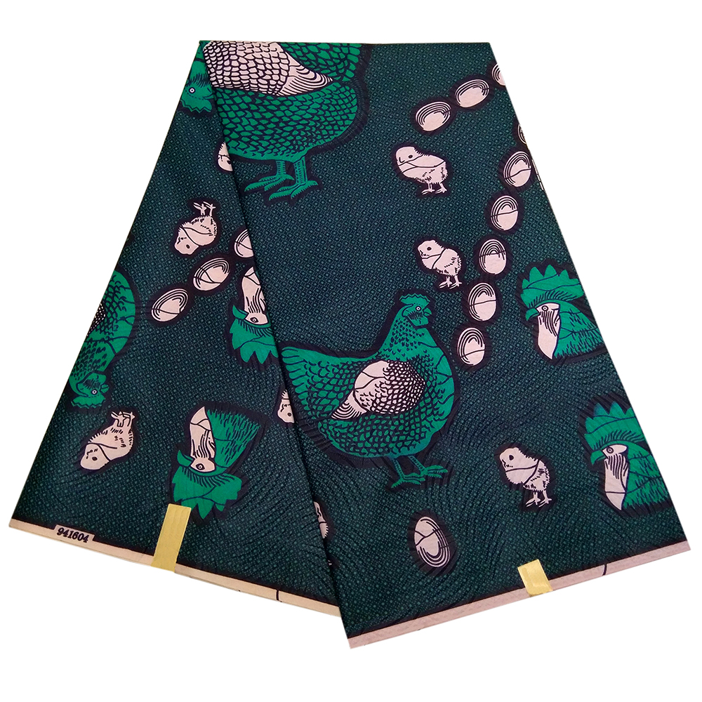 2019 New Ankara Fabric African Wax Fabric Real Dutch Wax High Quality 6yards Africa Fabric For Dress