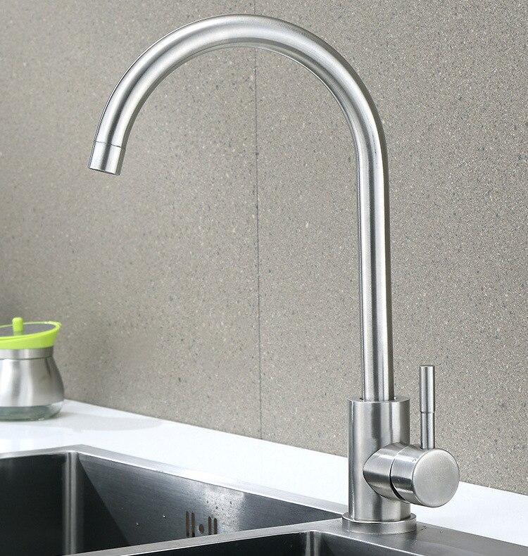 Wan Nai 304 Stainless Steel Tap Basin Kitchen Dish Slot Leading Sanitary Ware Shower Washing Machine Water Tap