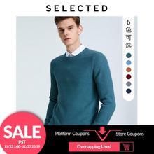 เลือกผู้ชายO Neckเสื้อกันหนาวธุรกิจสบายๆถักPulloversเสื้อผ้าS