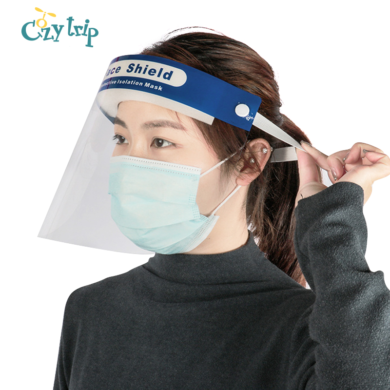Professional Anti-fog Mouth Face Mask Protective Full Face Shield Anti Droplet Isolation Face Mask