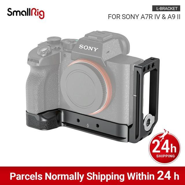 SmallRig A7R4 מצלמה L צלחת L סוגר עבור Sony A7R IV W/ Arca תואם בסיס צלחת & צד צלחת 2417