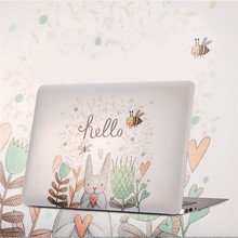 цена на Case for Huawei Matebook 14 KLV-W19 KLV-W29 Crystal Transparent Clear Floral Notebook Laptop Cover for Huawei Matebook 14 inch