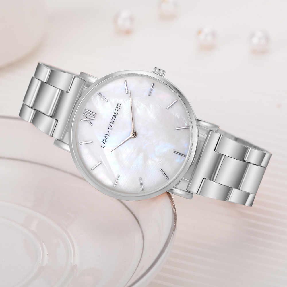 2020 אוהבי שעון יוקרה קריסטל זהב שעונים נשים של גברים של קריסטל ריינסטון נירוסטה אנלוגי קריסטל קוורץ שעון יד
