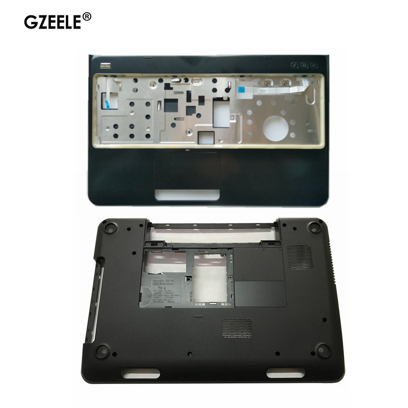 GZEELE NEW laptop Bottom <font><b>case</b></font> Base Cover for <font><b>DELL</b></font> Inspiron 15R <font><b>N5110</b></font> M5110 Replacement 39D-00ZD-A00 005T5 0005T5 4PVH5 04PVH5 image