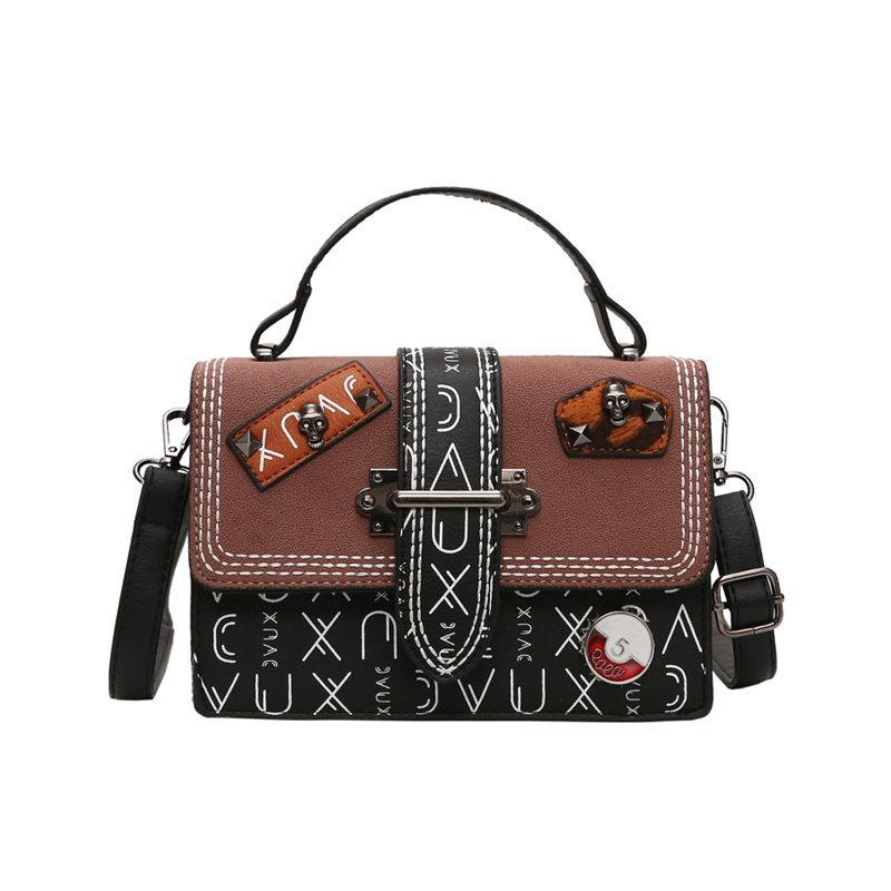 2019 New Small Bags women Fashion Crossbody Bag Vintage Small Square Bag Shoulder Bag Ladies in Shoulder Bags from Luggage Bags