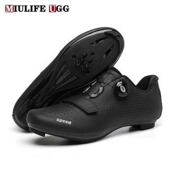 2020 sapatos planos mtb esportes inverno rota ciclismo calçado cleat homens velocidade da bicicleta de estrada tênis corrida das mulheres montanha spd 1