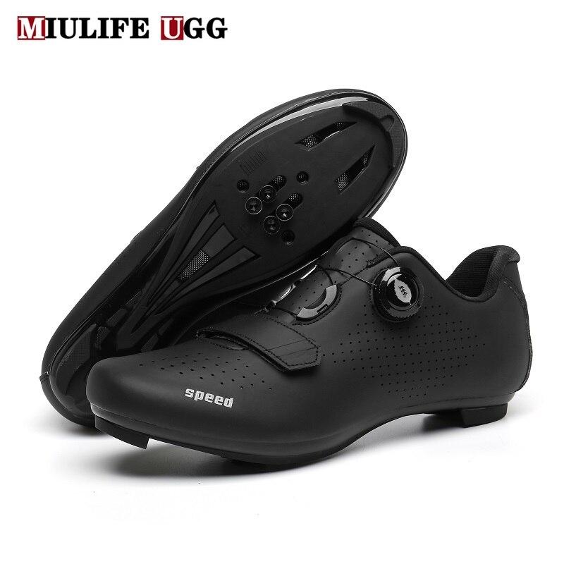 2020 на плоской подошве обувь горный велосипед MTB зимний спортивный маршрут Велоспорт обувь бутсы для мужчин шоссейные велосипеды Скорость С...