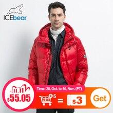 سترة جديدة شتوية للرجال من ICEbear موضة 2019 معطف رجالي سميك ودافئ ملابس رجالية ماركة MWD19867I