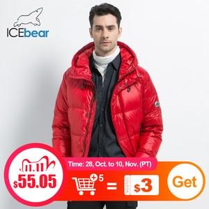 Image 1 - Icebear 2019 新冬メンズダウンジャケットスタイリッシュな男性ダウンコート厚く暖かい男服ブランドのメンズアパレルMWD19867I