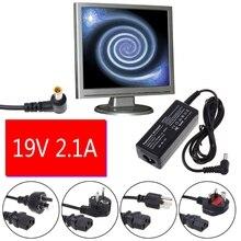 Ładowarka zasilająca AC DC przewód adapterowy konwerter 19V 2.1A do telewizora LCD LG