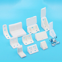 10Pcs Nylon plastic thickened Corner Brackets, right angle 90 degree angle, plywood tray cabinet fittings fittings Corner Code