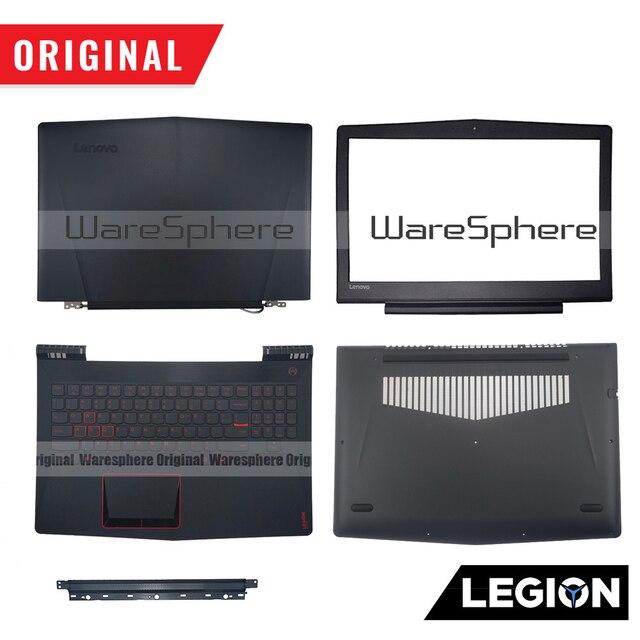 Base Original para Lenovo Legion Y520 R720 Y520 15 R720 15 Y520 15IKB, LCD, bisel trasero, Plamrest, SP US RUKeyboard