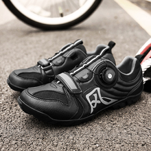 Bicycle Pure Mountain Shoes Professional Grade Riding Bike Lock Men and Women Breathable Sports Shoe
