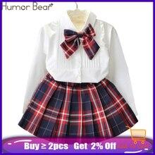 Humor Bear Autumn Kids Baby Girl Clothes Long Sleeve T-shirt