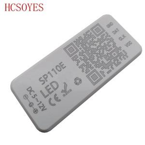 Image 4 - SP110E Bluetooth Pixel light Controller by smart phone APP For WS2812B SK6812 LPD8806 DMX512 1903 RGB/RGBW DC5 24V