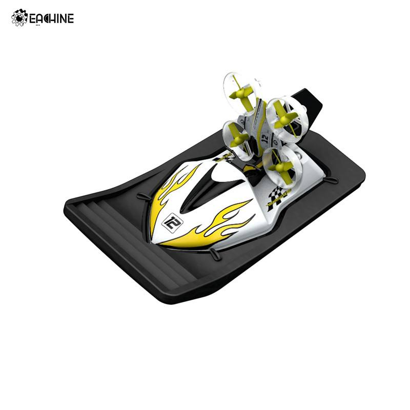 Eachine E015 With Flight Boat Car 3-mode Altitude Hold Mode RC Drone Quadcopter RTF Aircraft Toys Kid Yellow Red VS S9HW M69