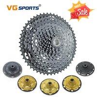 Vg sports mountain bike peças mtb 11 12 velocidade cassete 11s 12 s velocidade 46t 50t 52t ouro roda livre preto roda dentada cog