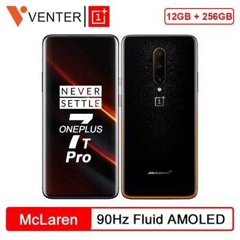 Купить Новинка 2019 глобальная ROM OnePlus 7T Pro McLaren Edition Snapdragon 855 Plus 12 Гб 256 ГБ 6,67 ''экран 90 Гц 48 МП тройные камеры NFC