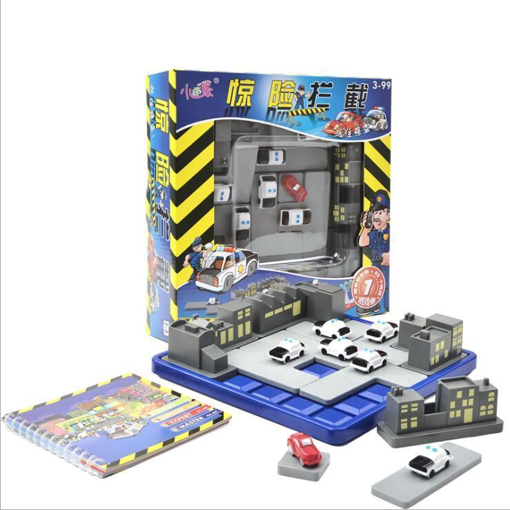 Police Catch Thief Maze Or Child Reasoning Smart Game Toy Baby Party Game Birthday Gift Early Education