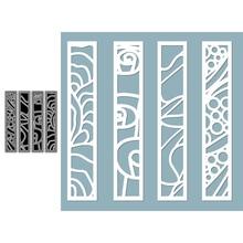 Irregular Texture Frame Set Crafting Dies Emboss Stencil For Metal Cutting Dies Diy Die Scrapbooking Paper Cut Latest