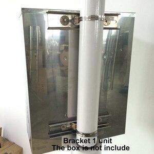 Image 5 - 후프 브래킷과 스테인레스 스틸 방수 배포 상자 플레이트 야외 전원 스토리지 폴 바 크로스 암 25CM 30CM 40CM