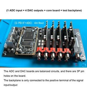 Image 5 - ADSP21489 entwicklung bord DSP teiler ADC PCM1804 Eingang + DAC PCM1798 ausgang 4 in 6/8 heraus prozessor B4 007
