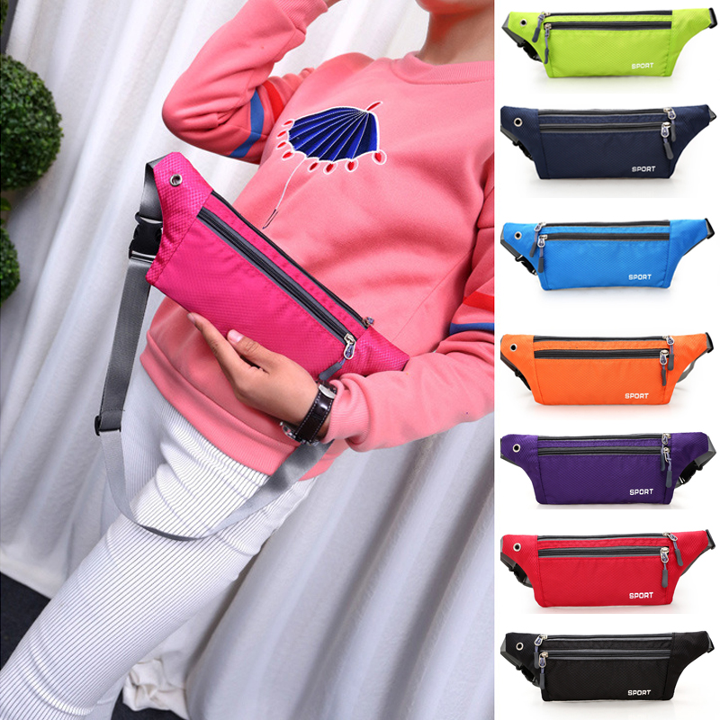 Women Ultra-thin Waist-Pack Running Funny-Pockets Phone Holder Belt-Pouch Cycling Kidney Waterproof Sport Bum Bags Men Waist Pack