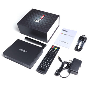 Image 5 - MECOOL yeni TV kutusu K7 Andriod9.0 TV kutusu DVB S2 DVB T2/T DVB C 4GB + 64GB Amlogic S905X2 Bluetooth 4.1 2.4/5G WIFI akıllı SET üst kutu