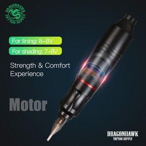 Image 2 - Compelte Attooปากกาชุดถาวรแต่งหน้าKitเครื่องโรตารี่Mini PowerตลับหมึกTattoo Supply