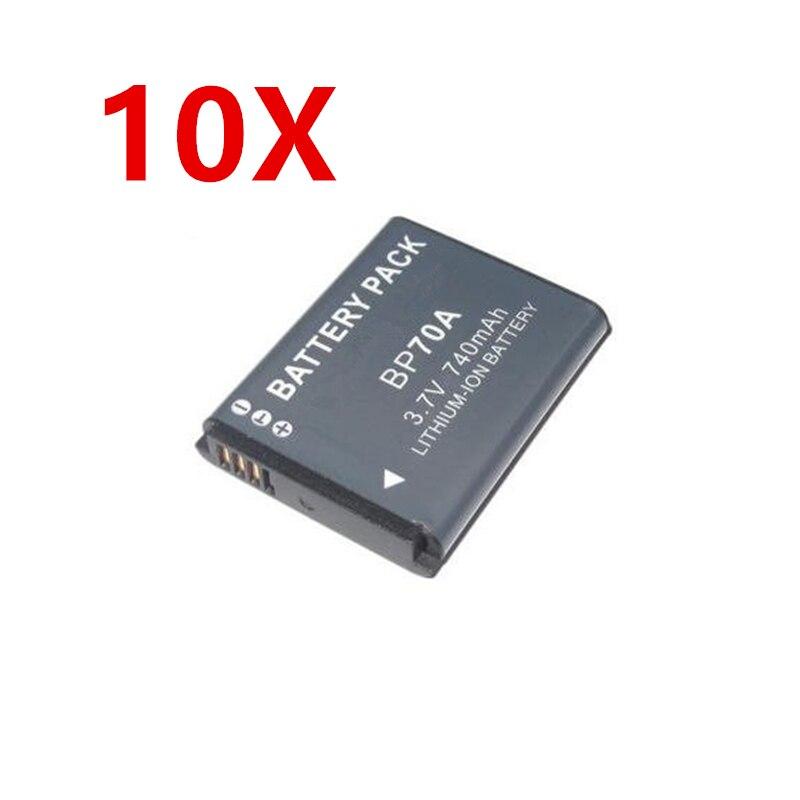 BP-70A EA-BP70A IA-BP70A BP70A IABP70A Батарея для SAMSUNG AQ100, DV150F, ES65, ES67, ES70, ES71, ES73, ES74, ES75, ES80 - Цвет: 10