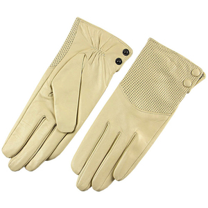 Image 4 - Special Offer 2020 Sale Dark Red Women Gloves Fashion Genuine Leather Warm Wrist Winter Sheepskin Glove Free Shipping L090NN