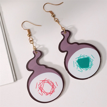 Toilet Bound Hanako Kun Yugi Amane Earrings Cosplay Acrylic Cute Wildfire Earring Ear Stud Costume Accessories